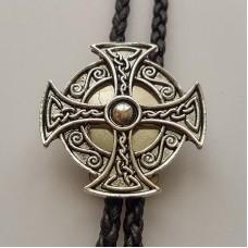 """Галстук Боло """"Кельтский Крест"""""""